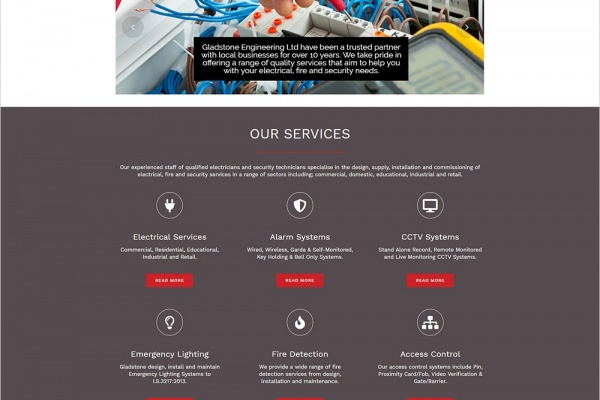 Gladstone Engineering - New Website Launched