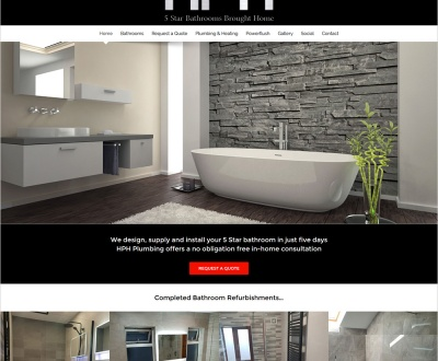 HPH Plumbing - New Website Launched