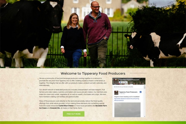 Tipperary Food Producers Network – New Website Launched